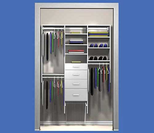 Closet Organizers - ready to install closets