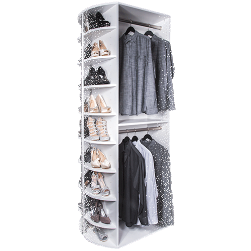 360 Organizer Double Hang free standing model