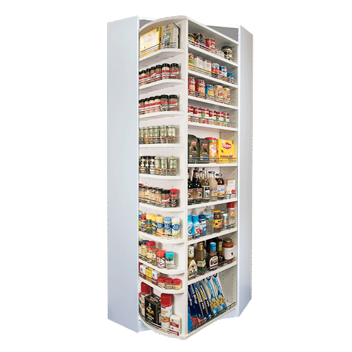360 Organizer pantry with corner cabinet model
