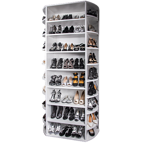 360 Organizer Shoe Spinner free standing model