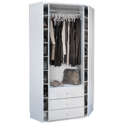 360 Organizer Valet built-in cabinet model